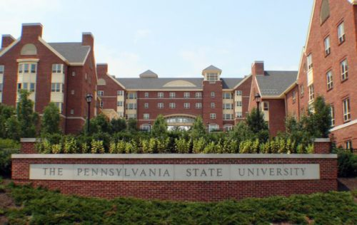 Penn State University-Best Ten Psychology Degrees 2018